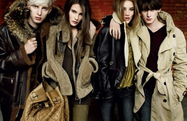 Burberry Fall 2010 Campaign Preview
