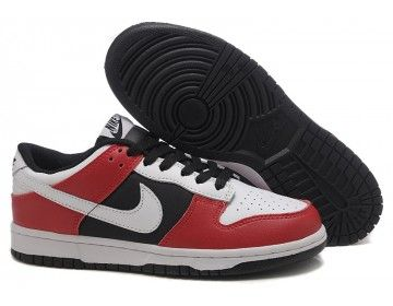 Nike Store. Nike Dunk Low Shoes - White/Red/Black - Wholesale \u0026