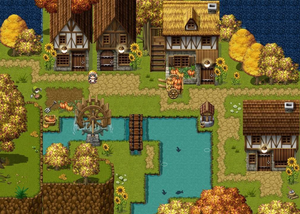 Pin by Troy Hepfner on RPG Maker Maps Pixel art games