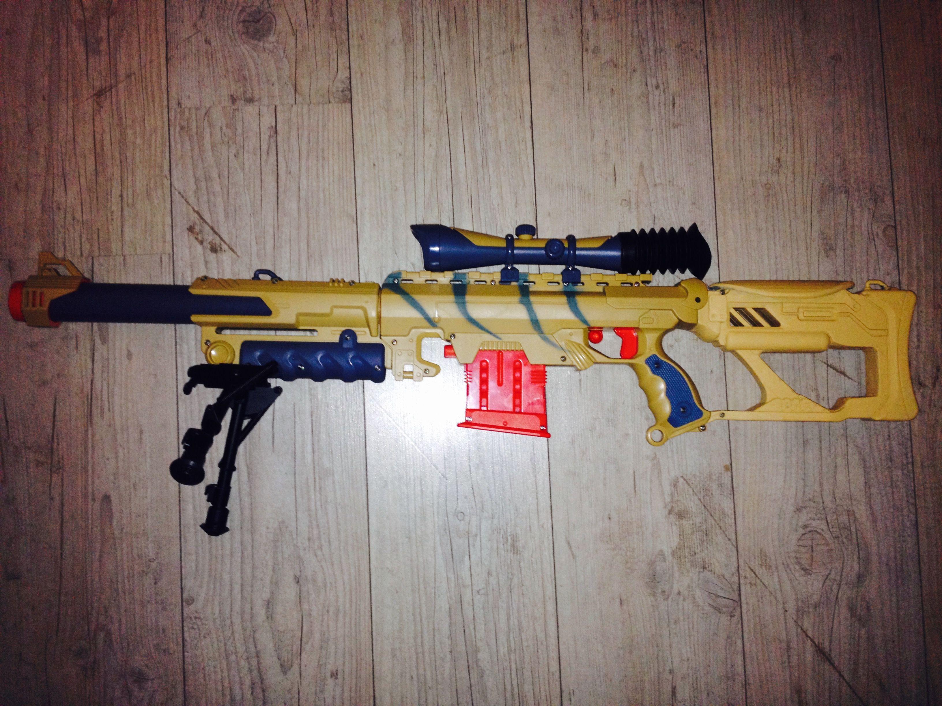 Picture of Nerf Demolisher Desert M4 Carbine