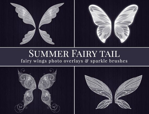 Fairy Photo Overlays Summer Fairy Tail Fairy Wings Photo Overlays