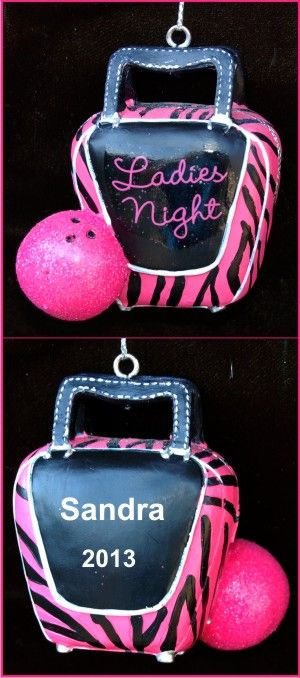 Personalized Bowler Ornament Female | Bowling Personalized ...