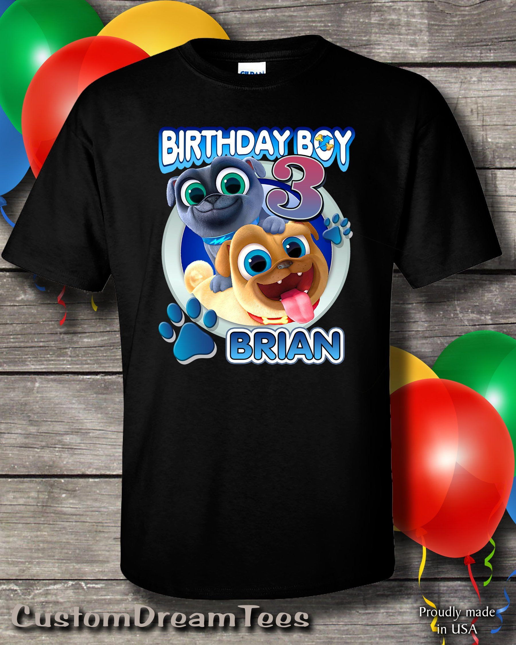 b168e57bf Puppy Dog Pals Birthday Shirt Puppy Dog Pals Birthday Shirt | Etsy