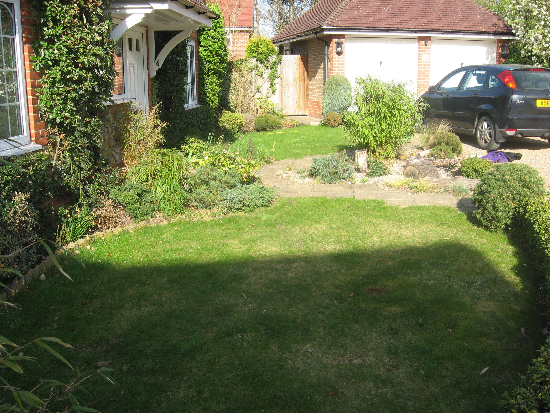 Before Front garden, Epsom. (Chessington Garden Centre