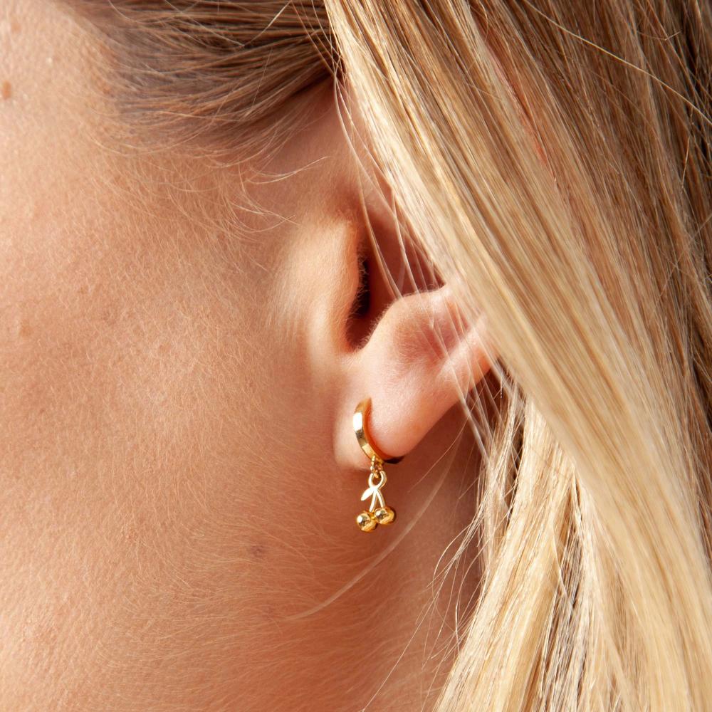 Cerise Earrings In 2020 Gold Dipped Jewelry Ear Jewelry Earrings