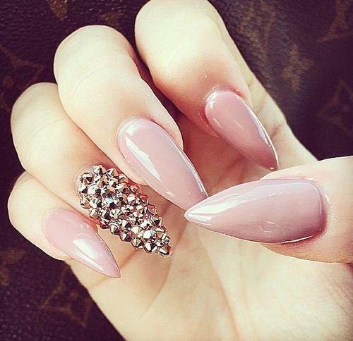 Beautiful Pink With Diamonds Design Uasnailsclous Pinterest