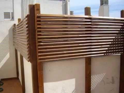 Resultado de imagen para deck madera muro Patios pequeños