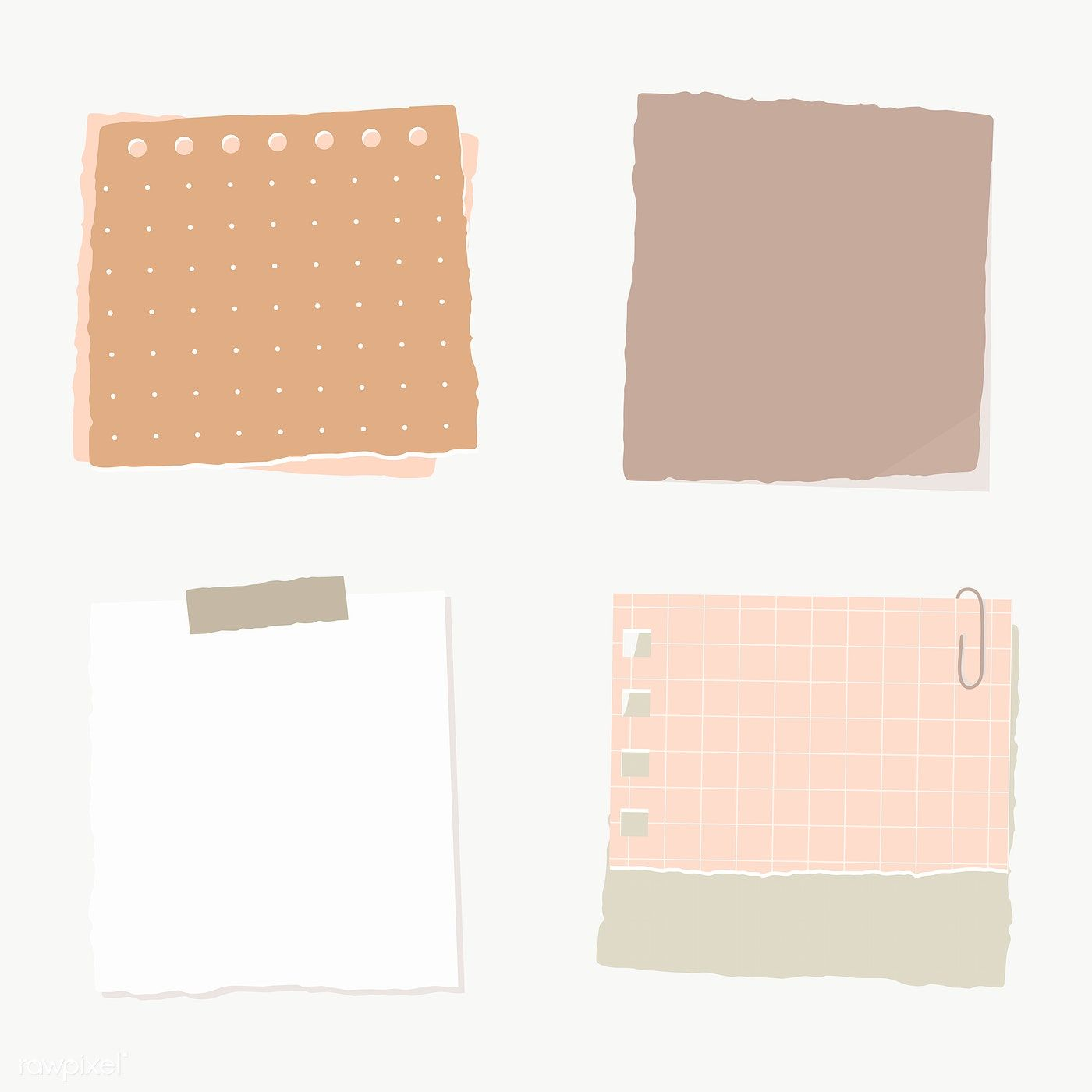 Torn Paper Note Collection Social Ads Template Transparent Png Free Image By Rawpixel Com Manotang Torn Paper Note Paper Sticky Notes Collection