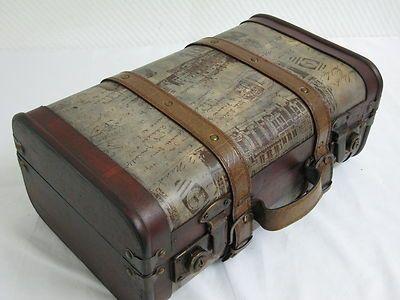 Oldtimer Koffer - Dekokoffer