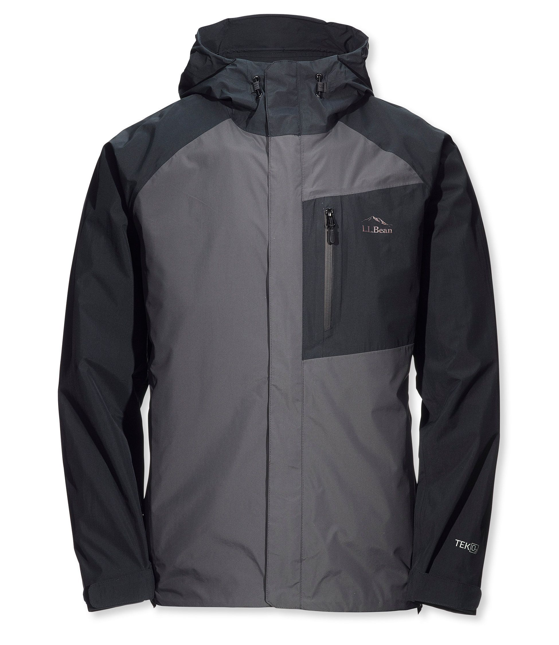 O2 Rainwear Mens Element Series Hooded Jacket