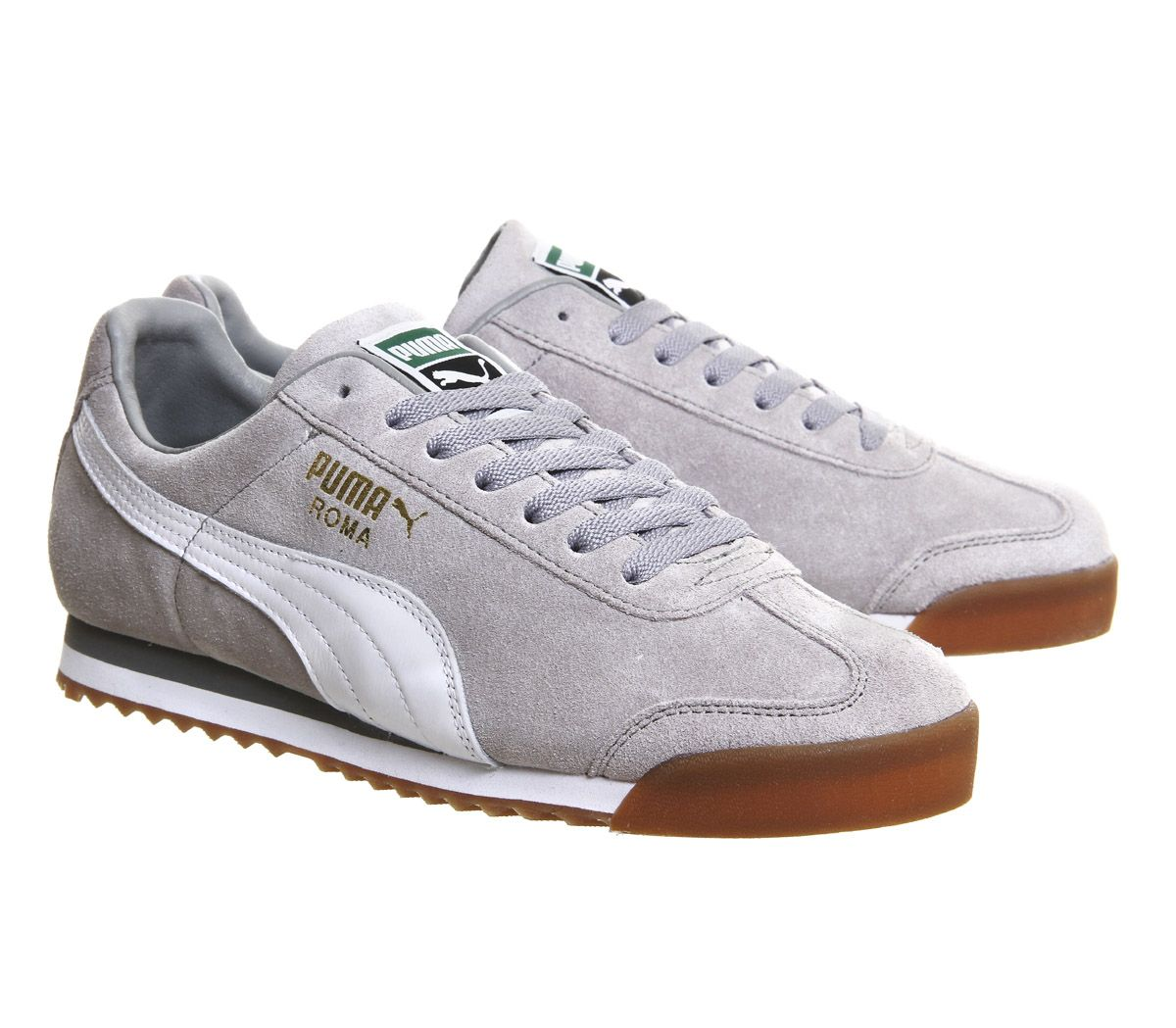 Puma Roma Grey White Gum Exclusive - His trainers  080ee9470