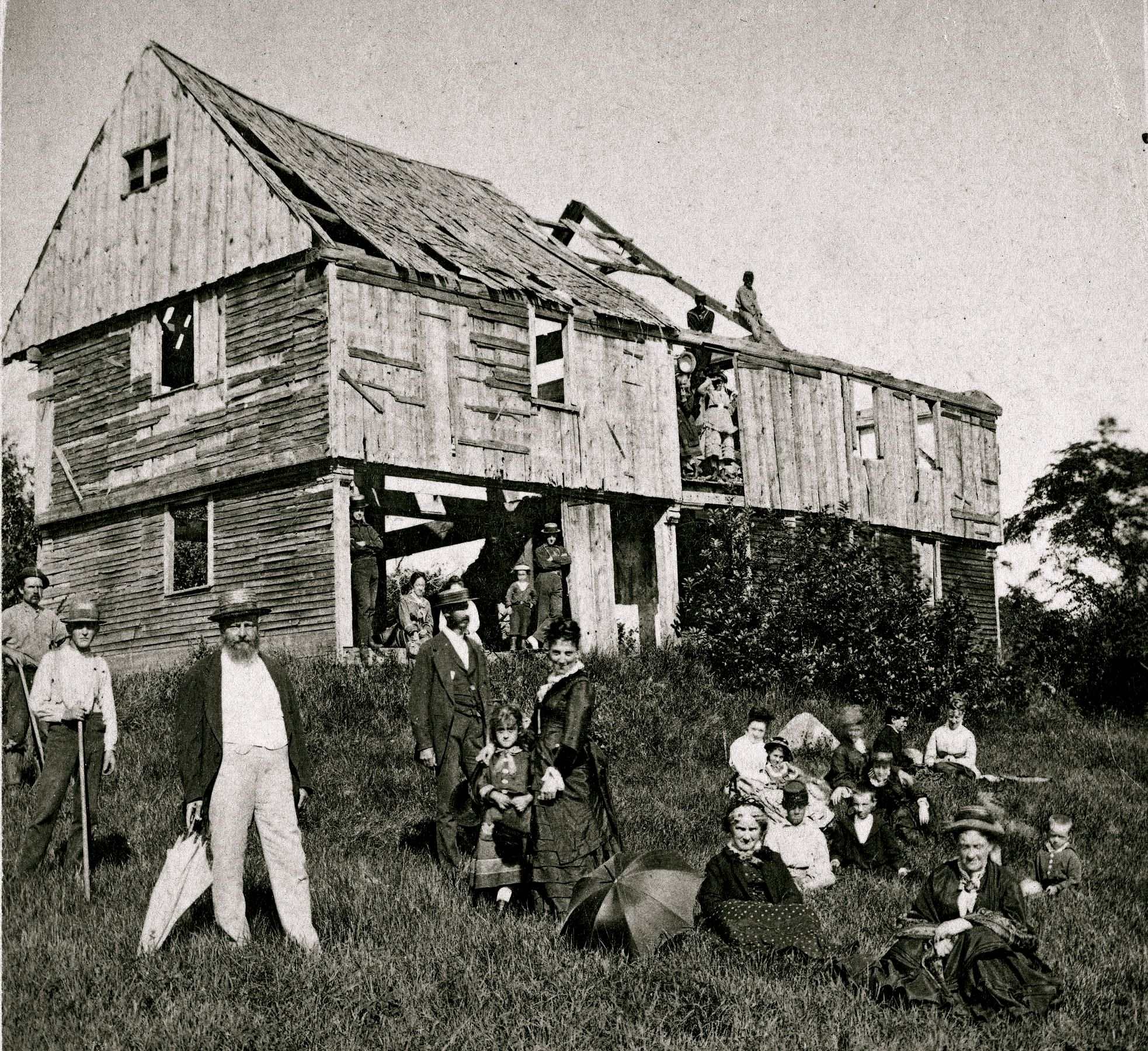 The Eveleth House In West Gloucester Circa 1710. Looks