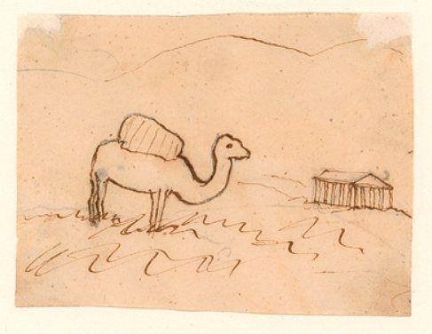 Hans Christian Andersen Drawings