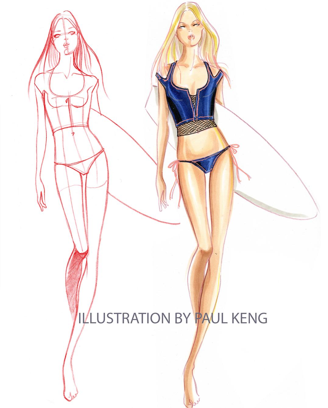 Illustration by Paul Keng. Copic & Prisma | Croquis | Pinterest ...