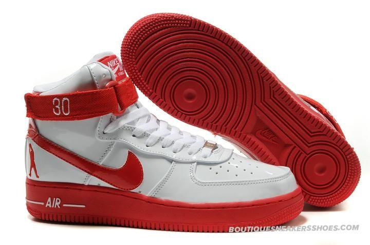 Nike Air Rojo Force 1 Sheed Sport Rojo Air Blanco Patente ~ ~ ~ ^ ^ ~ ~ ~ Mi e65a5f