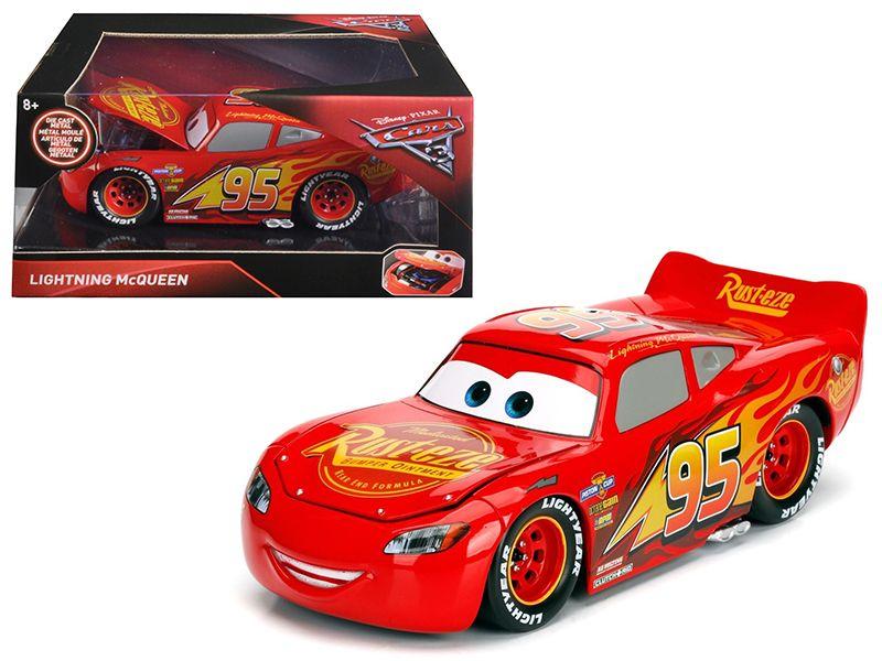 Disney Pixar  Cars 3  Movie Lightning McQueen Diecast Model Car by Jada - Brand  sc 1 st  Pinterest & Disney Pixar