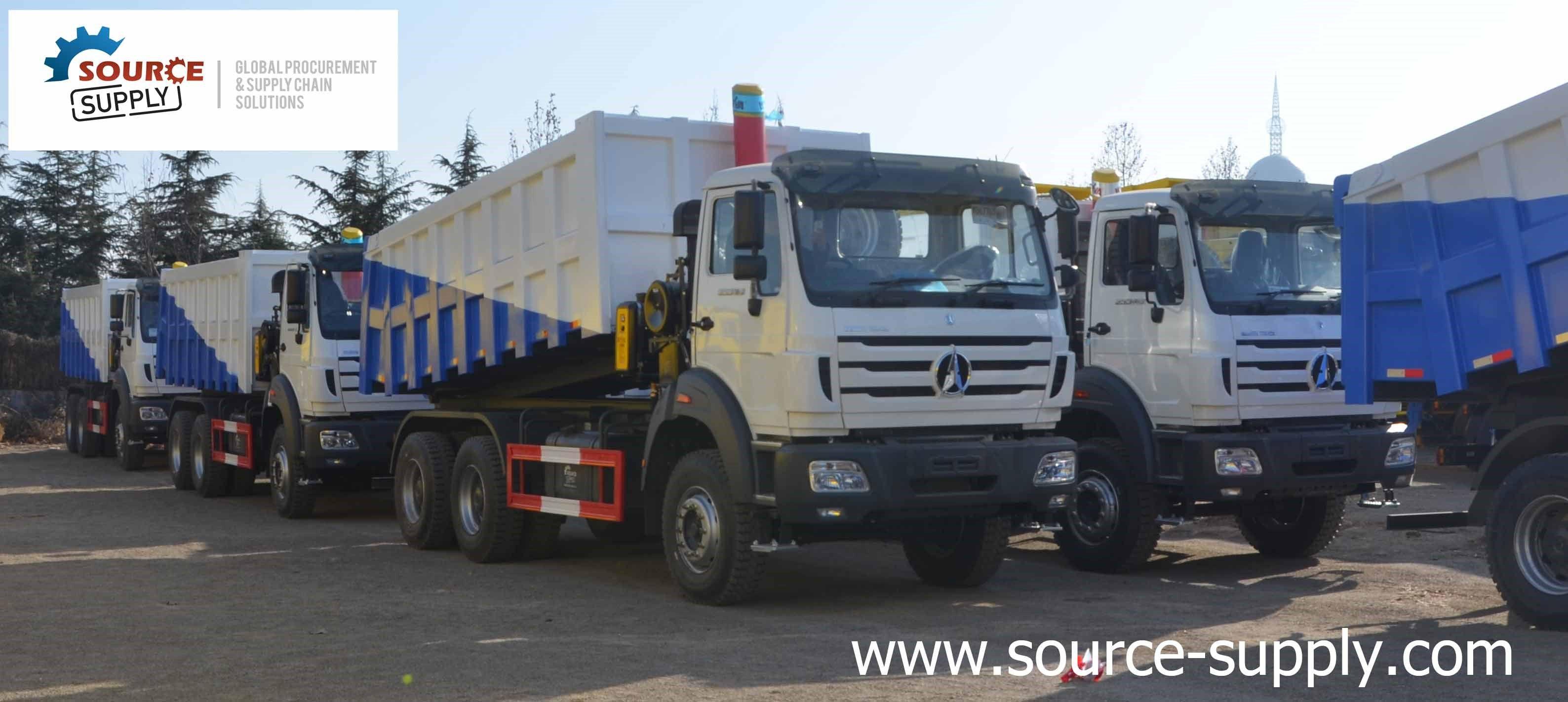 Source Supply New Trucks Tipper Truck Trucks