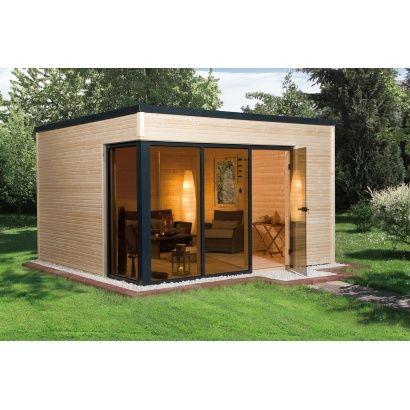 Abri de jardin en bois CUBILIS DESIGN taille 1 - WEKA | Dream homes ...