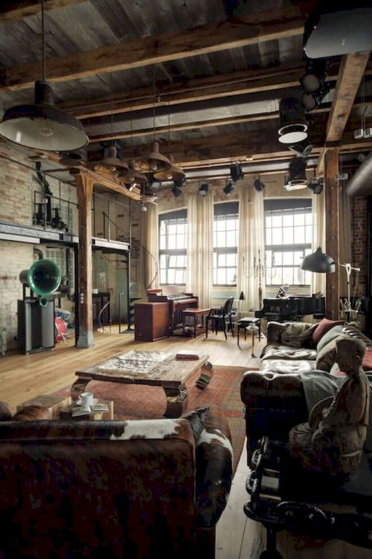 40 Rustic Studio Apartment Decor Ideas 32 Loft Living Loft