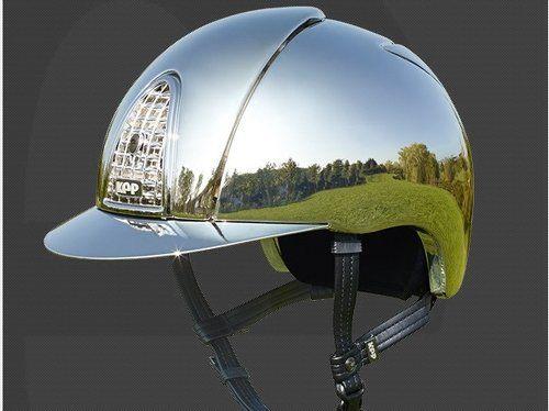 Kep Italia Silver Shine Mirror   Equestrian Fashion #ridinghelmet #kephelmet #equestrianfashion