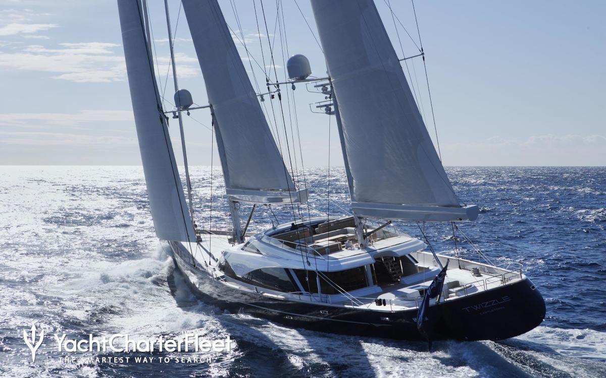 Twizzle Yacht Photos 57m Luxury Sail Yacht For Charter Sailing Yacht Sailboat Yacht Sailboat Cruises