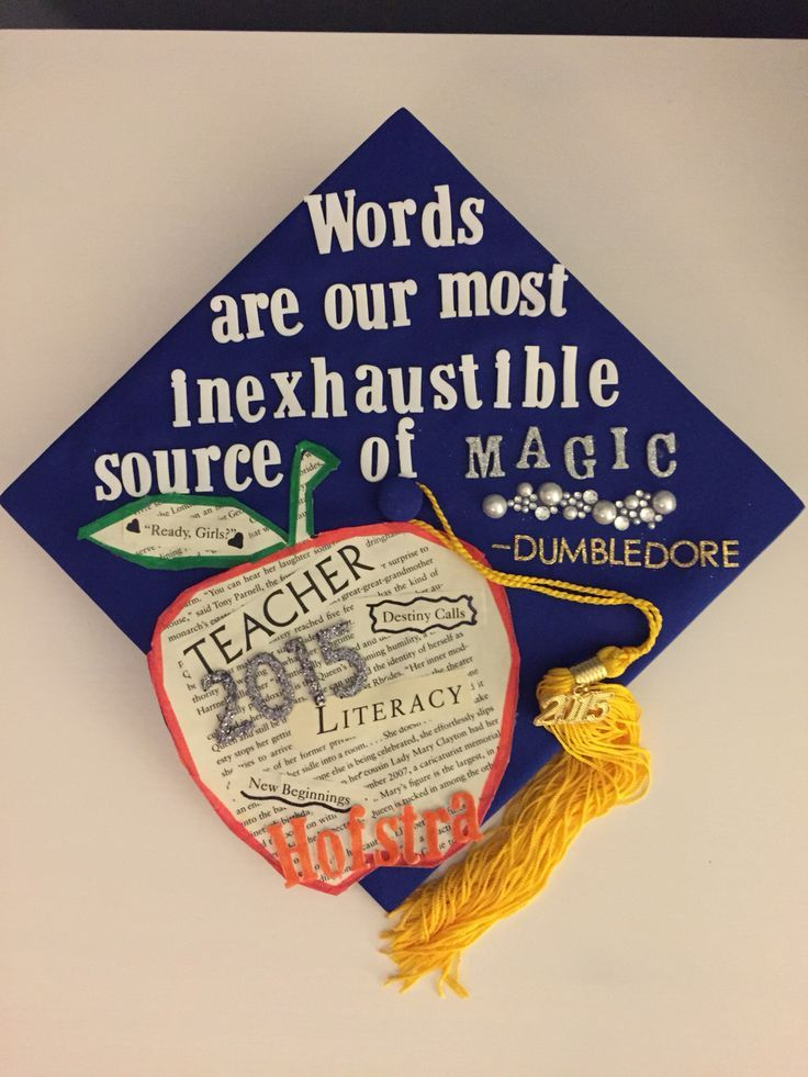 Harry Potter Quote Graduation Cap Goodbye 2017 Welcome 2018
