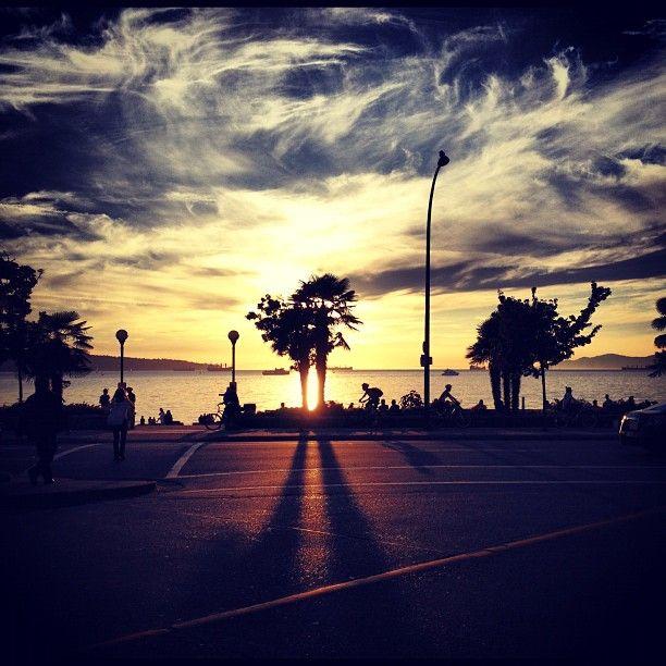 The view from English Bay - Photo by morgananana_