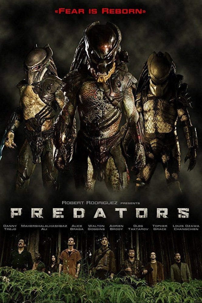 Predators (2010) Predator movie poster, Aliens movie