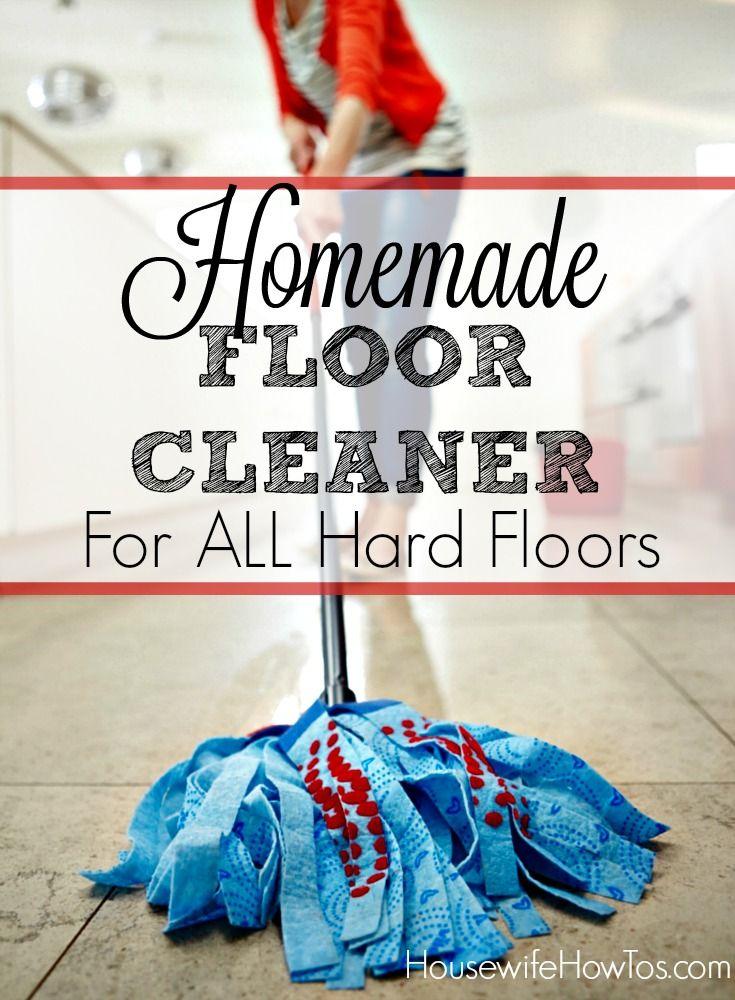 Pin Homemade Floor Cleaner Recipe