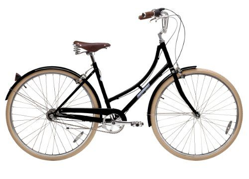 Papillionaire Sommer 3 Speed Vintage City Bike Black 19 Inch One Size Papillionaire Http Www Amazon Com Dp B00a9ske86 Bicycle Comfort Bicycle Vintage Bikes