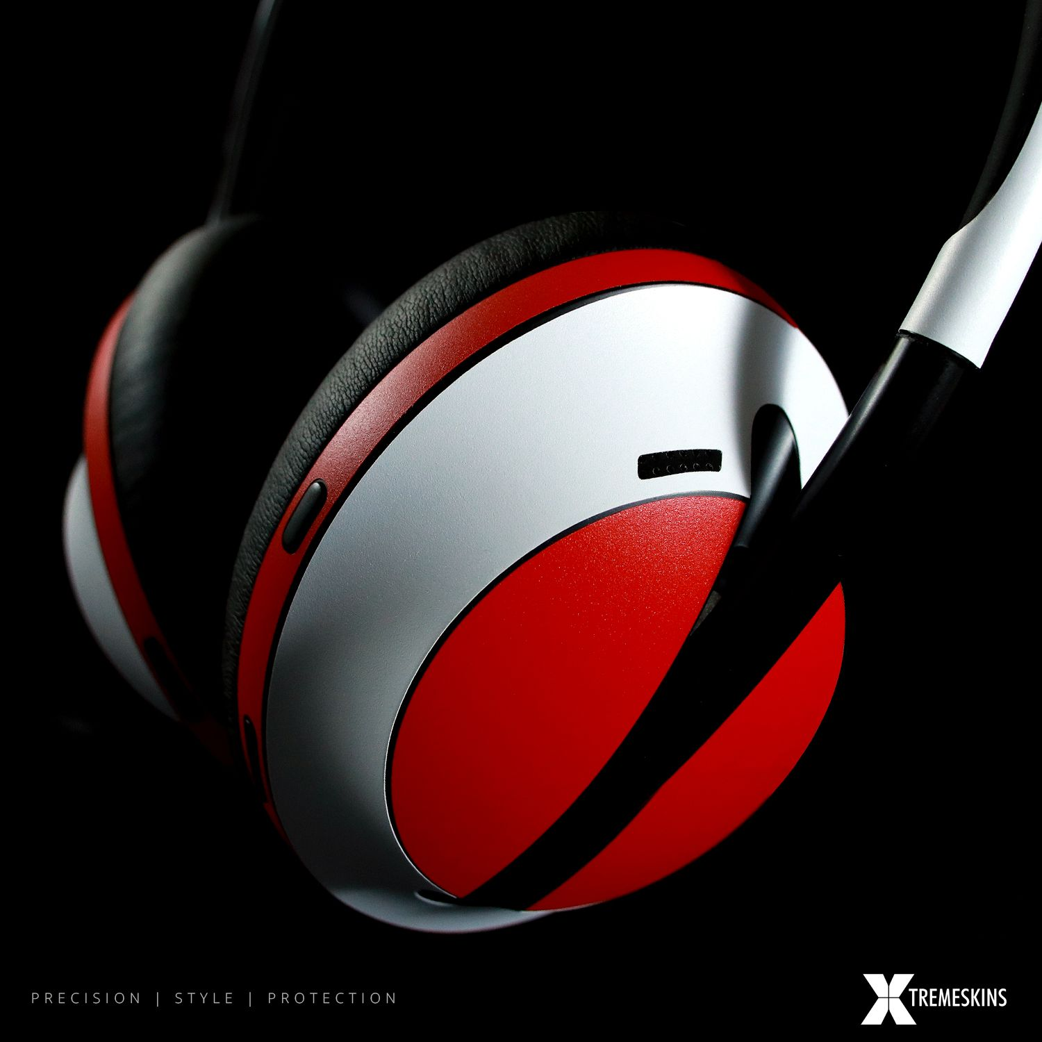 Bose 700 Noise Cancelling Headphones Matt Red And Matt White Skin Noise Cancelling Headphones Noise Cancelling Headphones Design