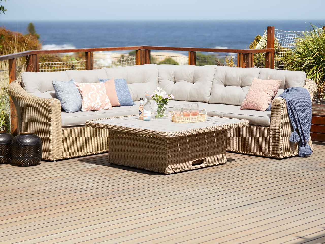 Pin By Chi Max On Haven Outdoor Furniture Sets Outdoor Sectional Sofa Outdoor Furniture