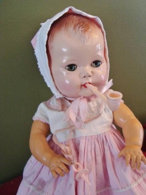Details About 1950s American Character Tiny Tears 15 Doll