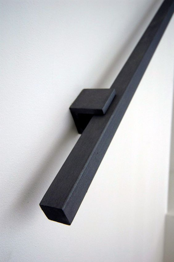 Best Square Tubing Makes A Nice Handrail Staircase Handrail 400 x 300