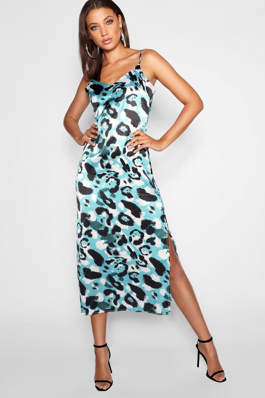 8 00 Tall Leopard Print Satin Midi Dress Tall Leopard Print Satin Midi Dress Beautiful Tenis Bohemian S Women Cheap Dresses Dresses Cheap Dresses [ 1500 x 1000 Pixel ]