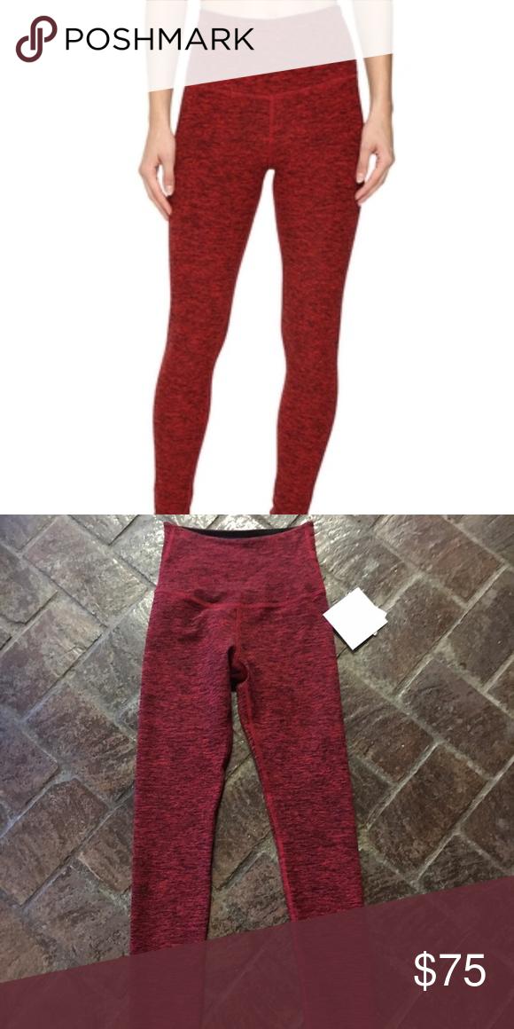 9f812067c8e07 Beyond Yoga High Waisted Spacedye Leggings High waisted full length leggings,  buttery soft red spacedye print Beyond Yoga Pants Leggings