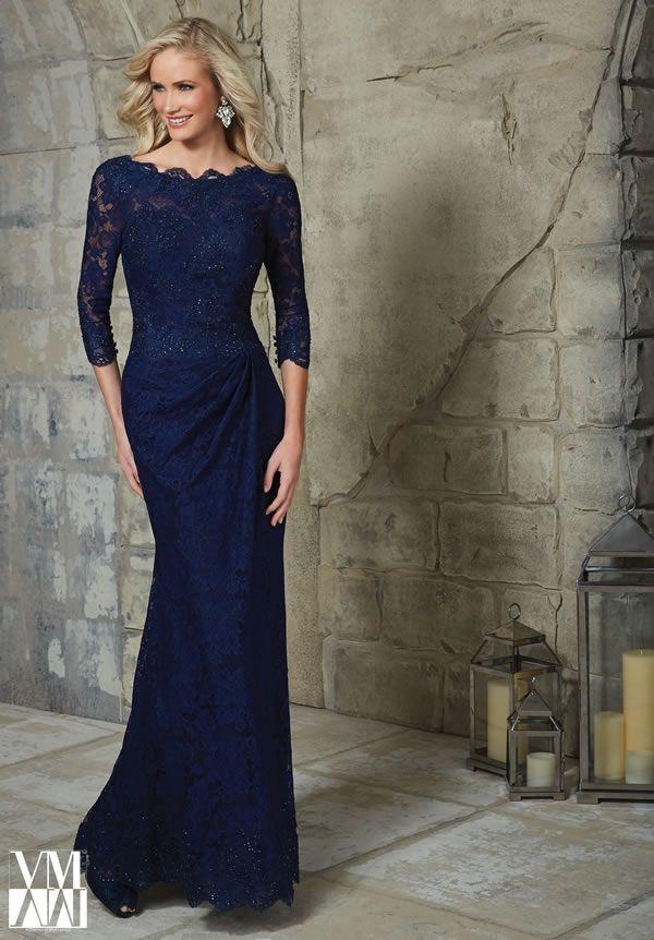 vestidos elegantes para la madre de la novia de mori lee | vestidos