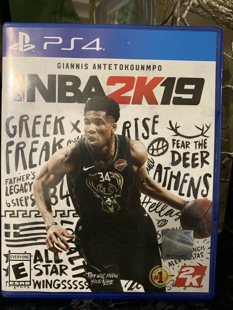 NBA 2K19 (Sony PlayStation 4, 2018) ps4 played once ps4