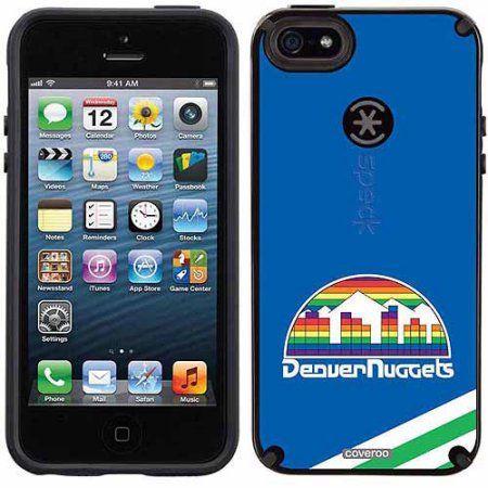 Denver Nuggets Hardwood Classic Design on Apple iPhone 5SE/5s/5 CandyShell Case by Speck