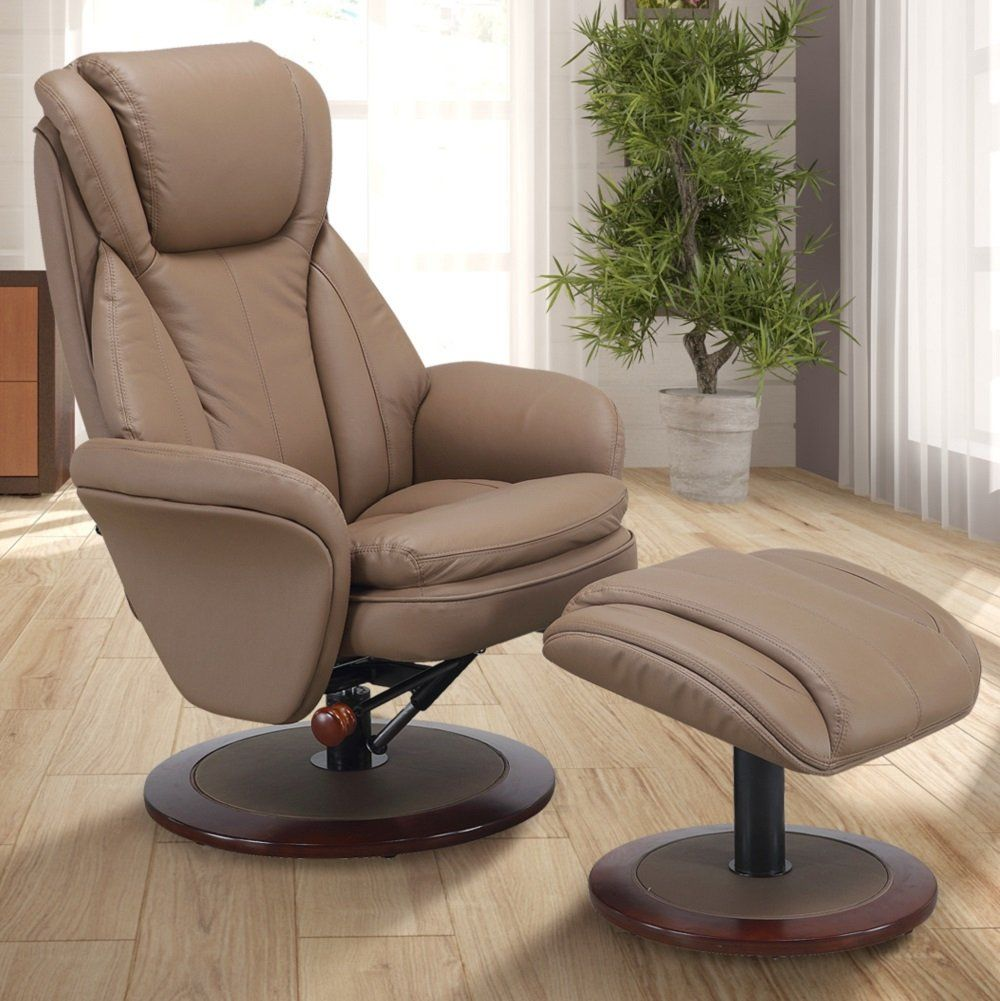 Comfort Chair by Mac Motion Norway Recliner and Ottoman in
