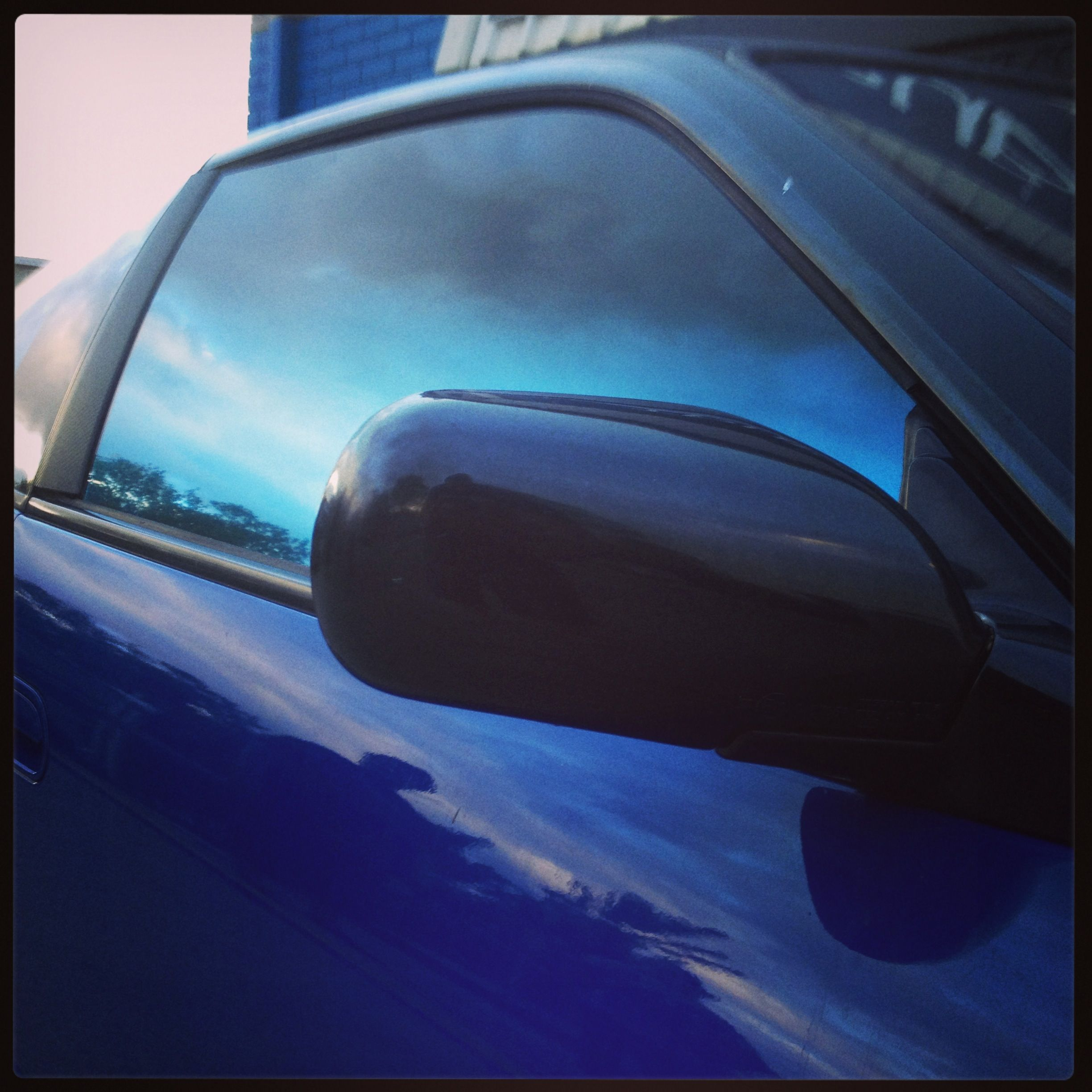 Blue To Black Fader Window Film