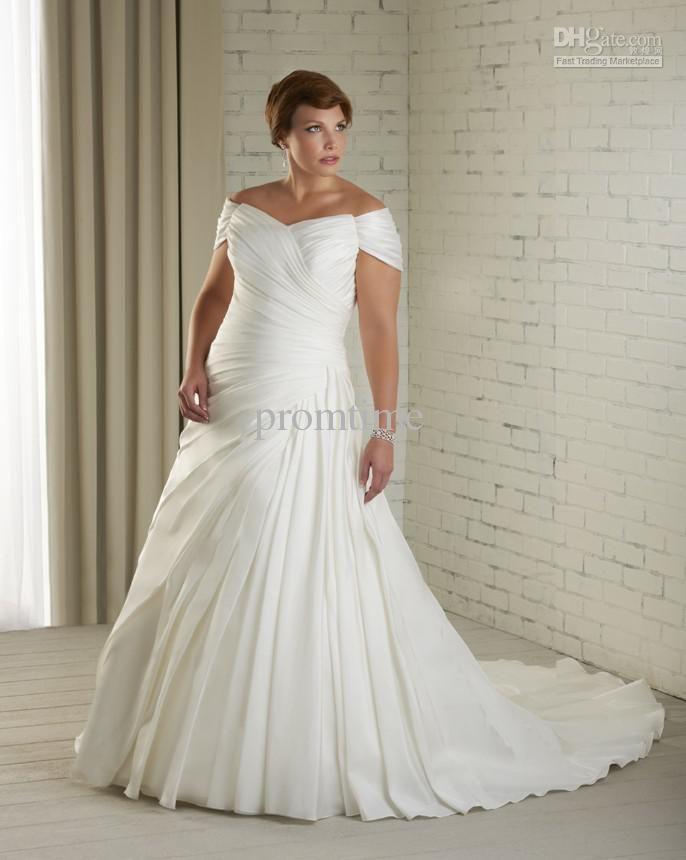 wedding dress plus size designer | Wedding