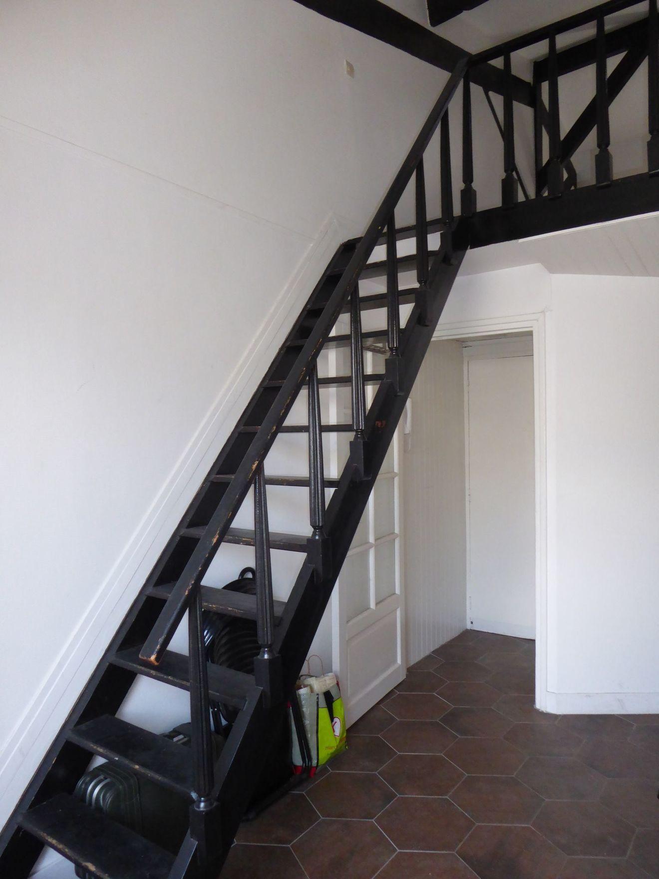 Avant Travaux Les Escaliers Genaient La Circulation