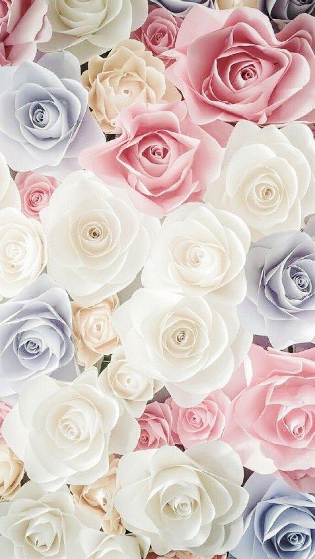 人気19位 色とりどりのバラの花 スマホ壁紙 Iphone待受画像ギャラリー バラの壁紙 花 イラスト バラの花