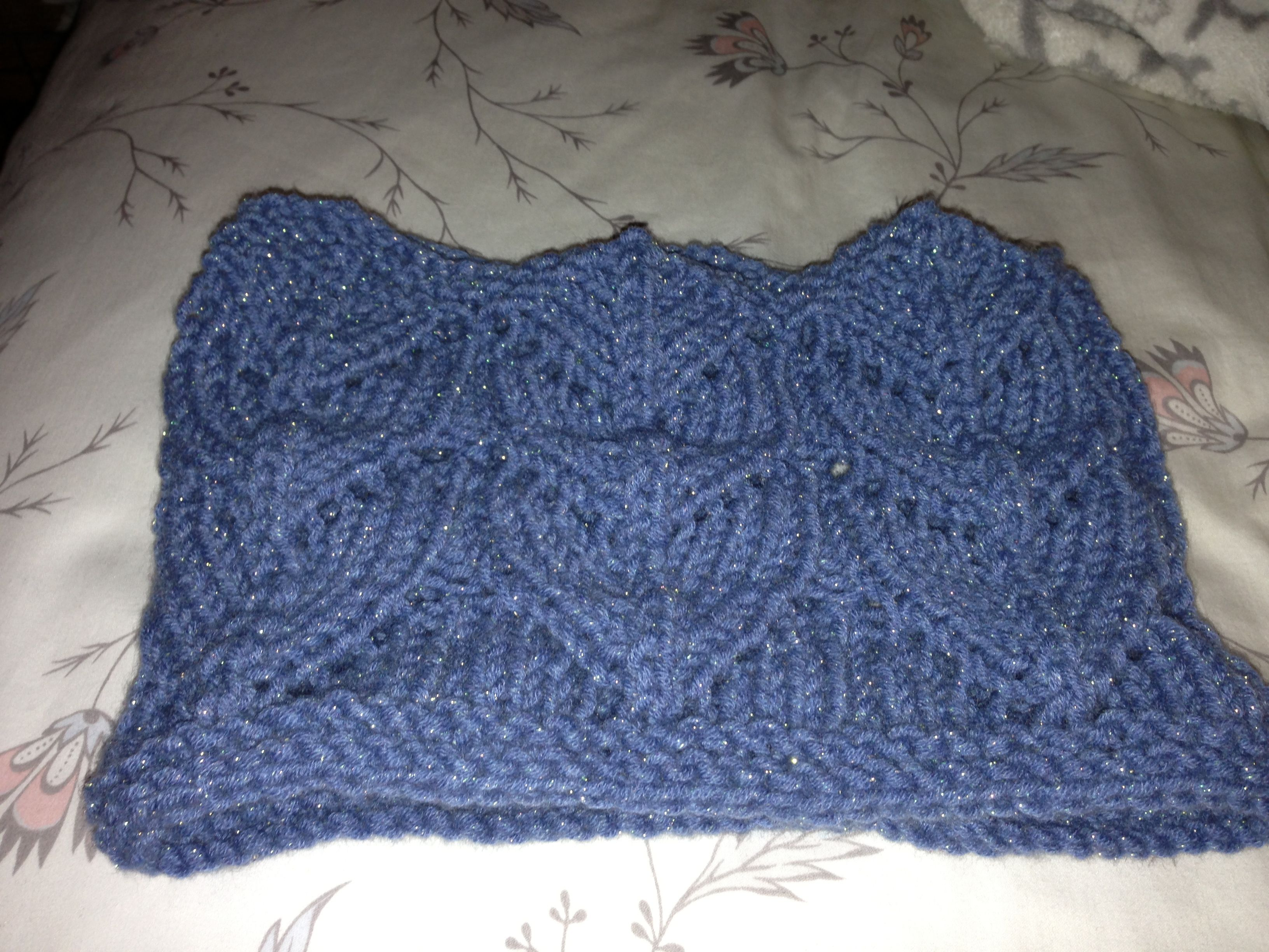 Karabella cashmere and nylon cowl for my Mom