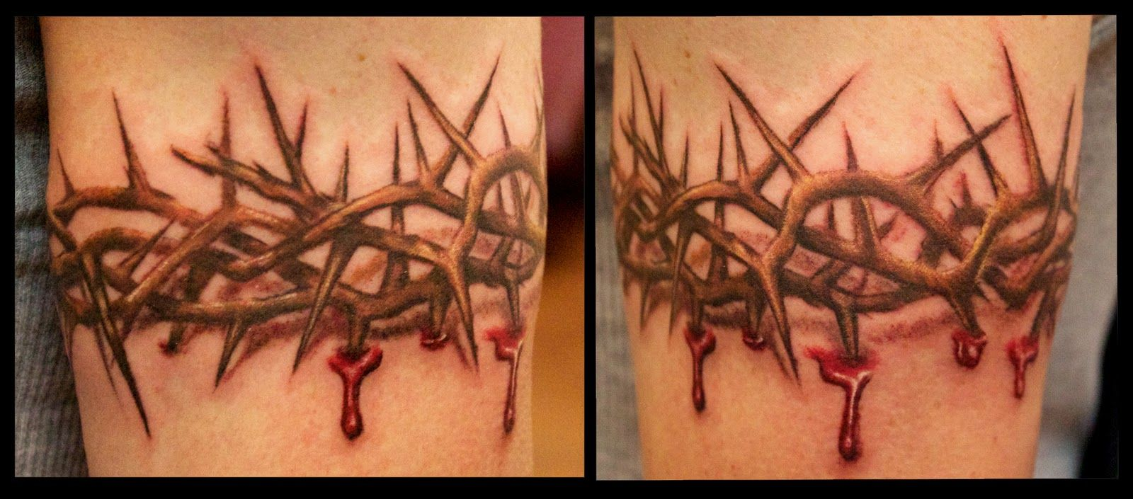 3d crown of thorns arm band tattoo google search for my