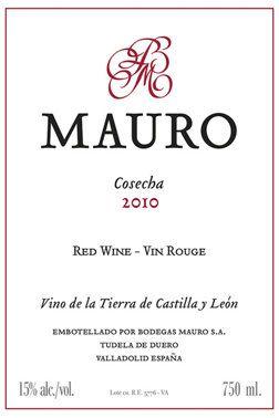 Bodegas Mauro, Mauro 2010 | Vin rouge | 12140705 | SAQ.com