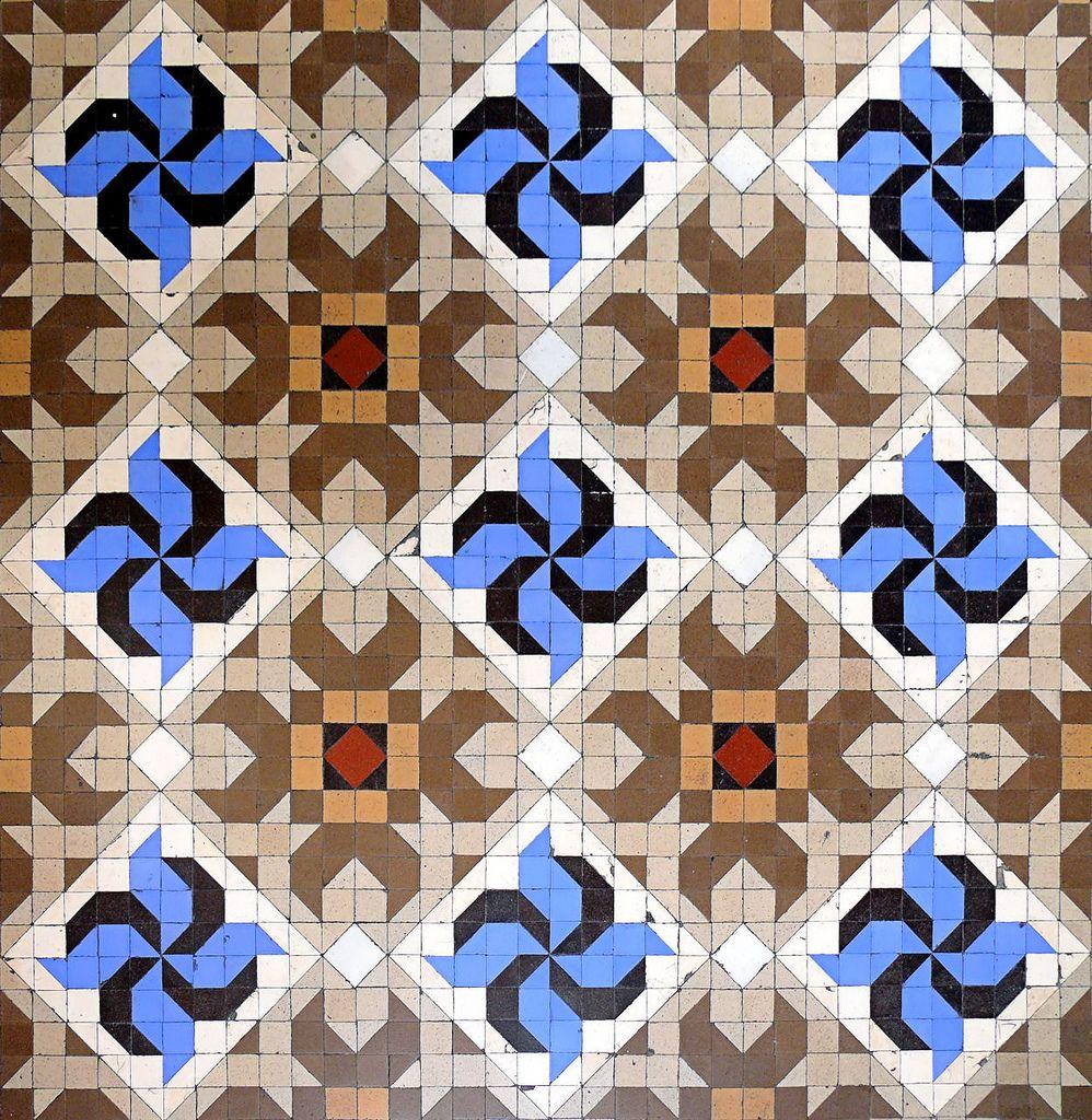 Barcelona Passeig Mare De Déu Del Coll 041 T Tile Design Pattern Tile Patterns Art Deco Tiles