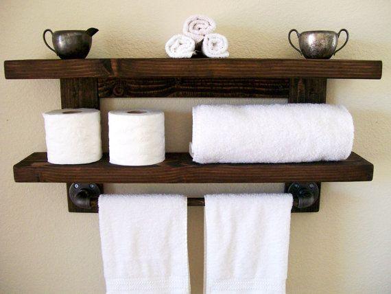 Floating Shelves Bathroom Shelf Towel Rack Floating Shelf Wall Shelf
