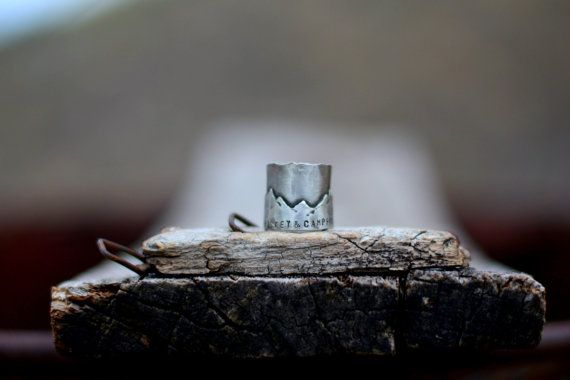 Whiskey Campfire Ring